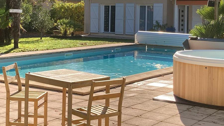 chambre hote andernos piscine spa